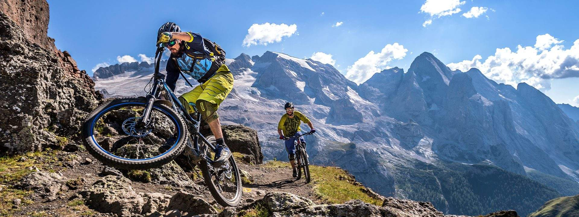FassaBike MTB Tours in Fassa Valley